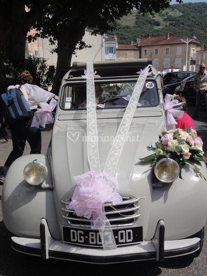 2cv et mariage