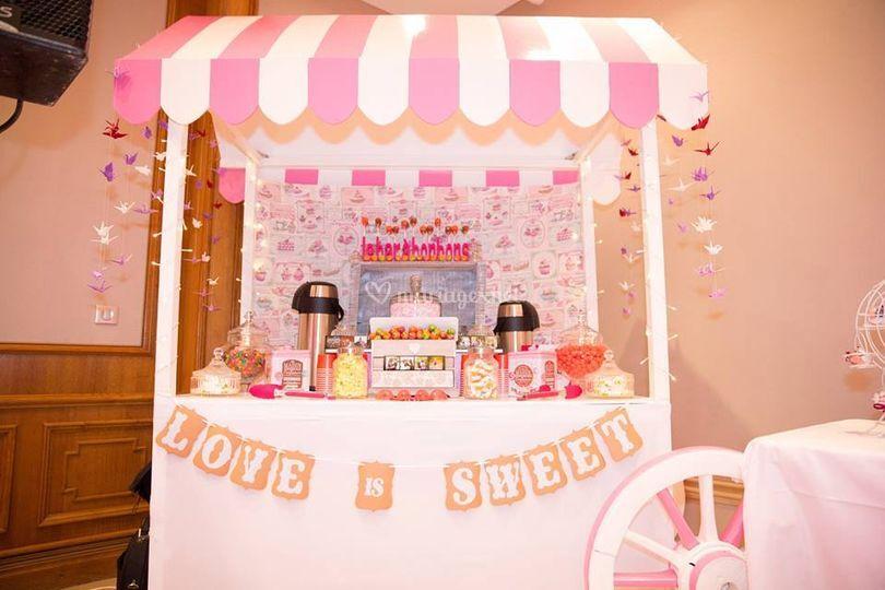Candybar, Bar à bonbons
