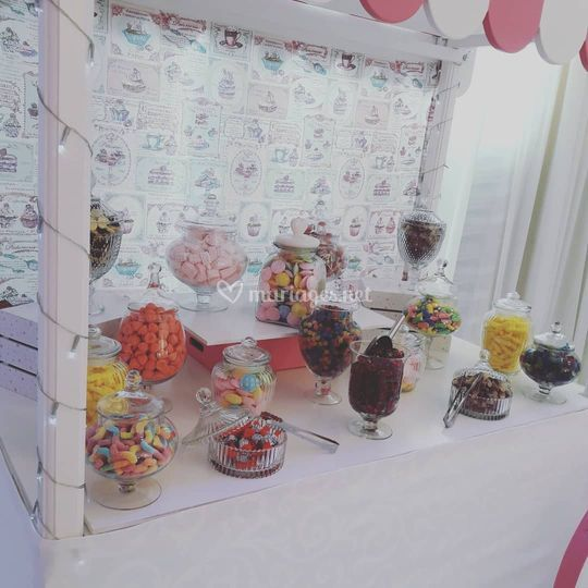 Candy Bar Party Bar à bonbons