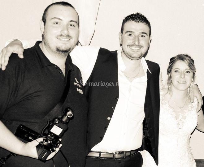 Florent, Julie & Anthony