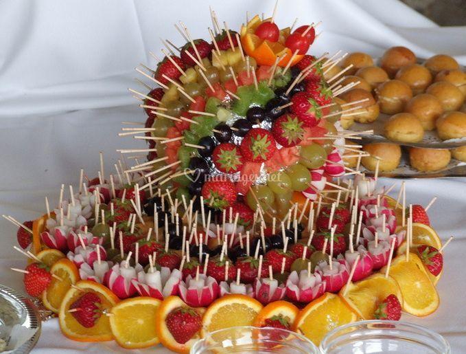 Exquis fruit de décoration