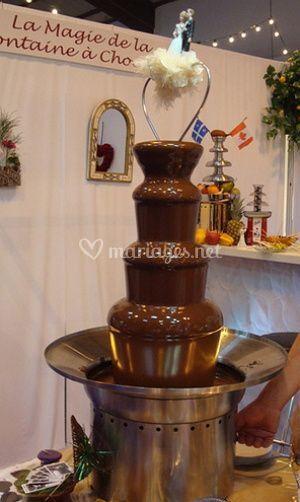 Les fontaines de chocolat
