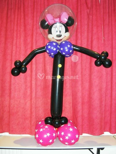 Figurine en ballons