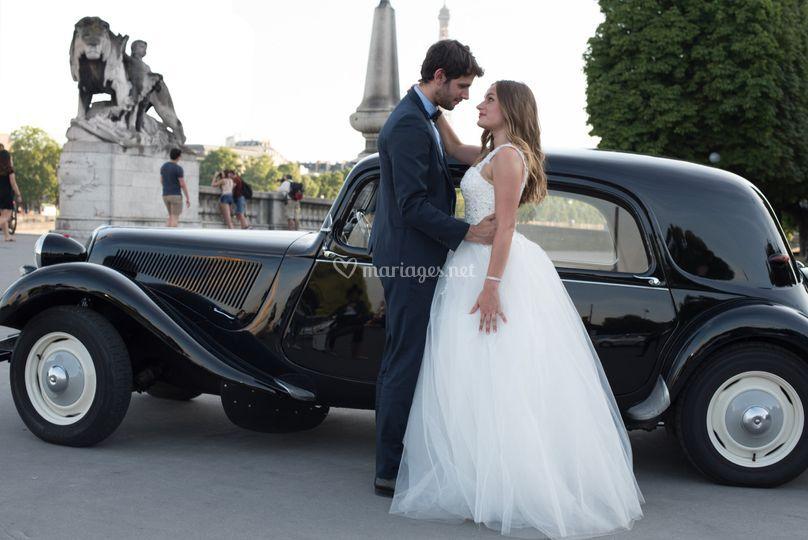 Amour passion mariés Paris