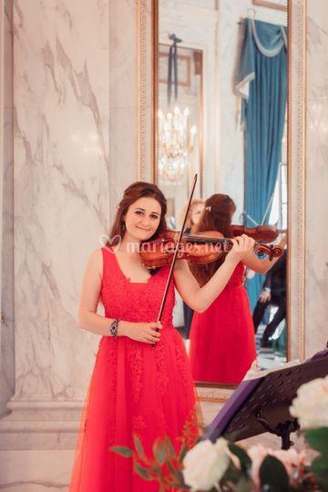 Violoniste cérémonie mariage