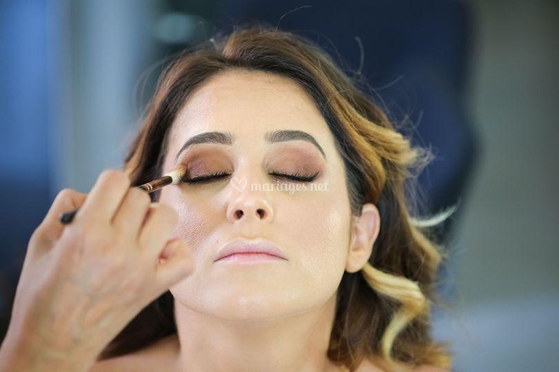 Préparatif make up