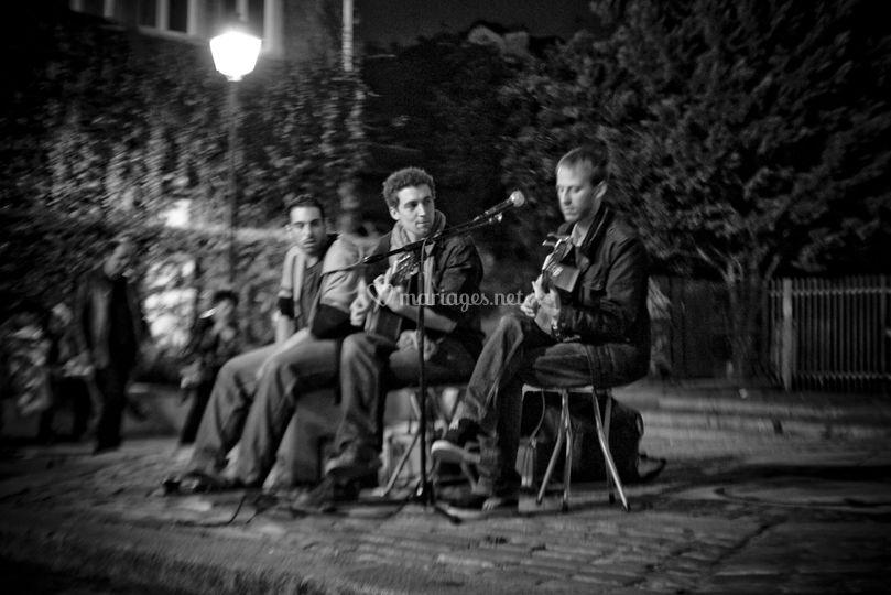 Fête de la musique en trio