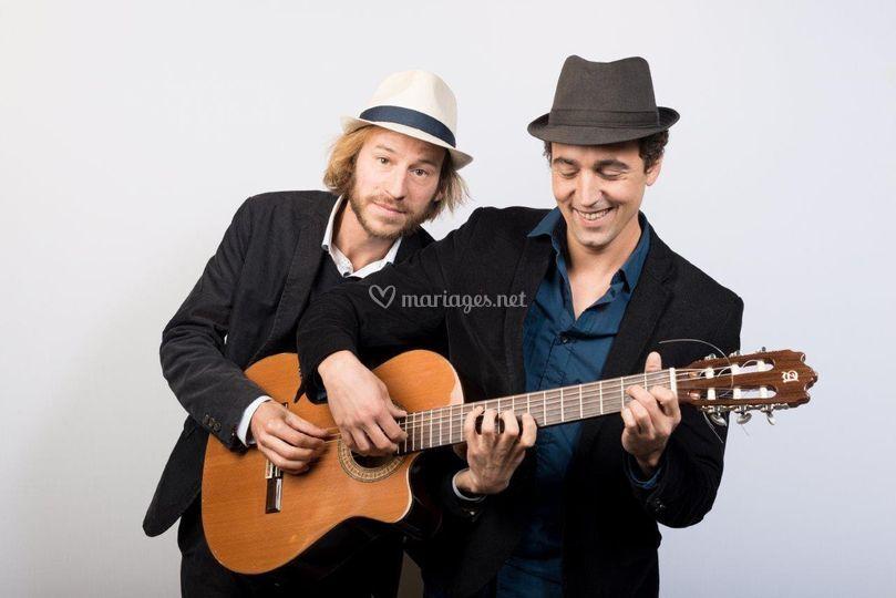 Duo de guitaristes chanteurs
