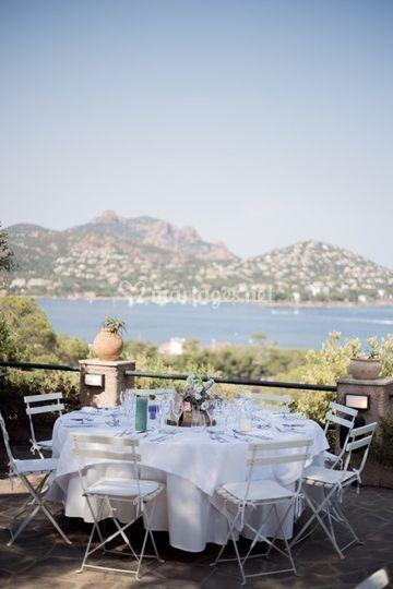 Un mariage sur la côte d'Azur