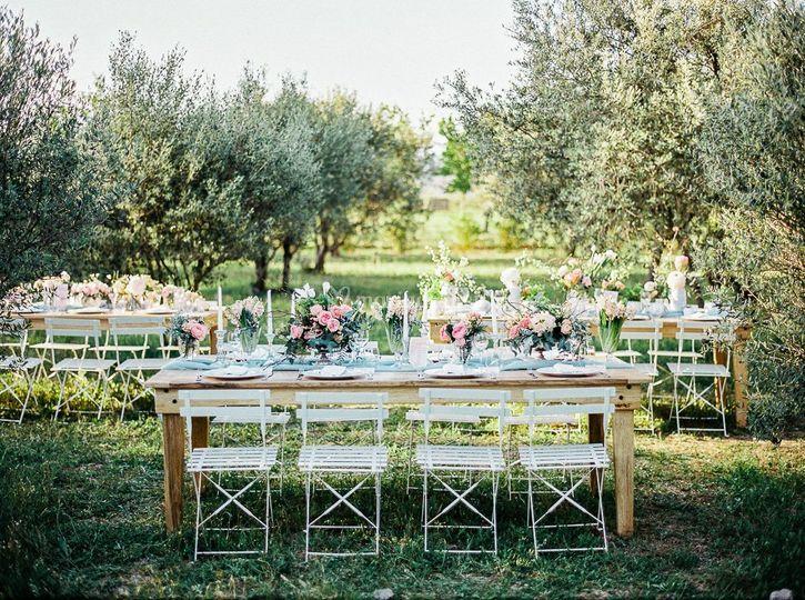 Un mariage sous les oliviers