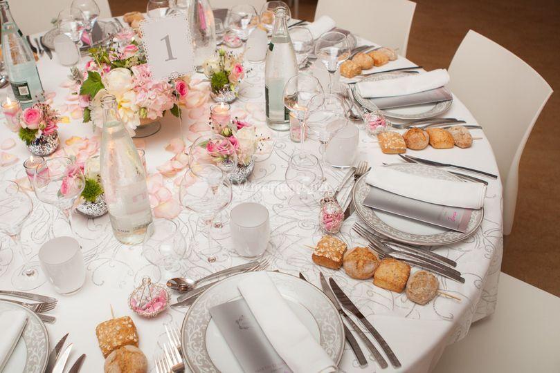 Table mise en place