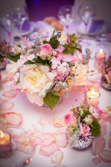 Fleurissement de table