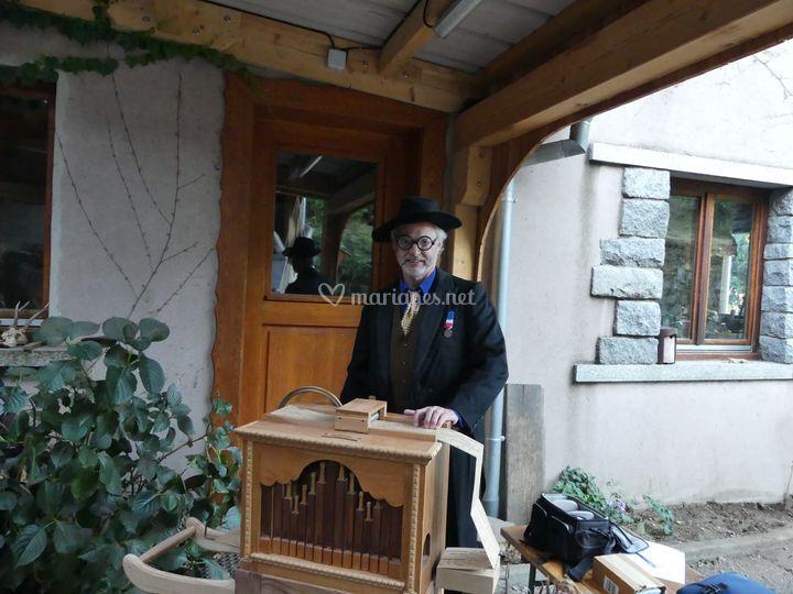 Georges et son orgue