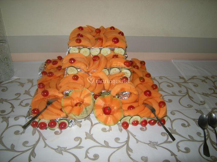Présentation du buffet