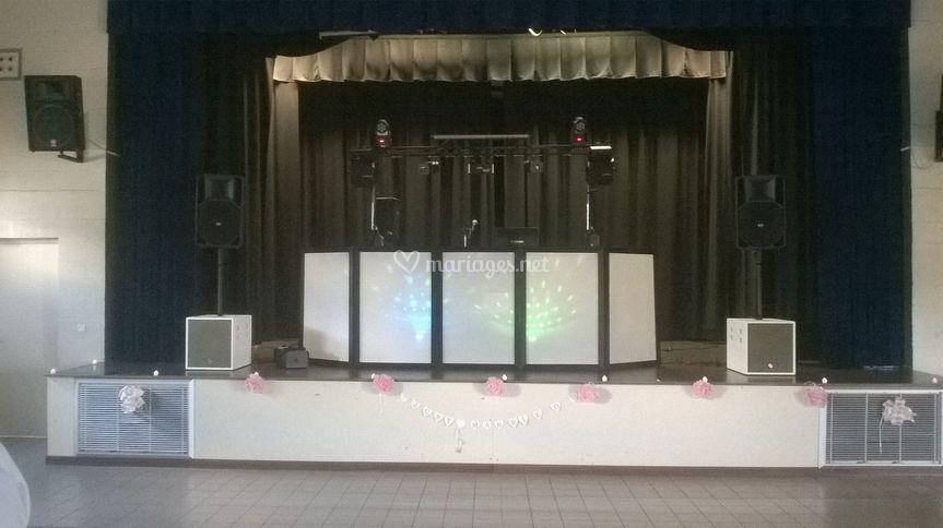 Installation DJ