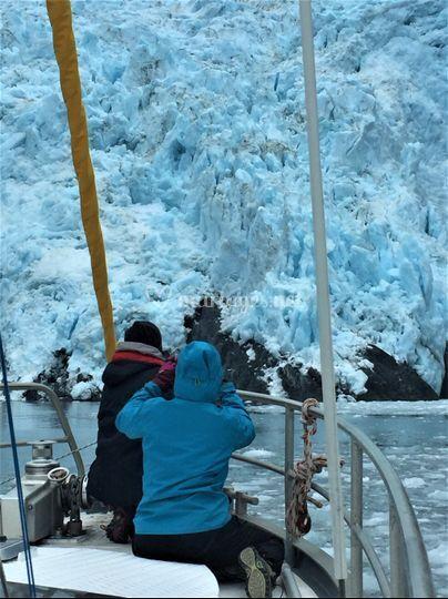Icebergs surprenants