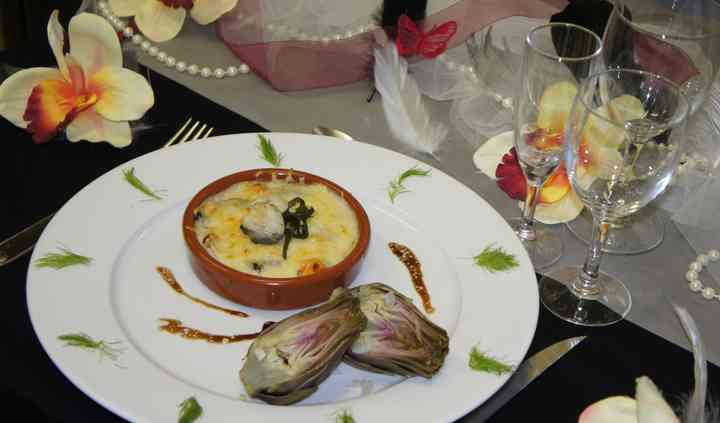 Cassolette de fruit de mer