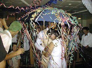 Parapluie mariés