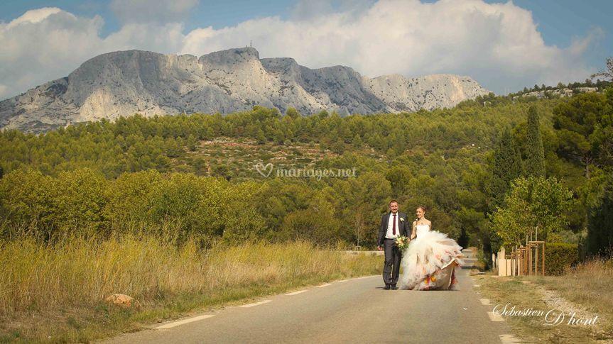 Photos de couple en provence