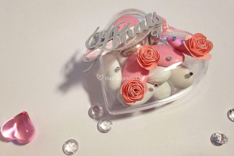 Dragées Fleur et Romance