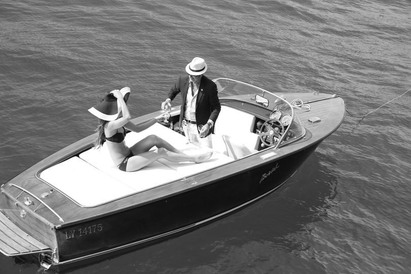 Luxe boat