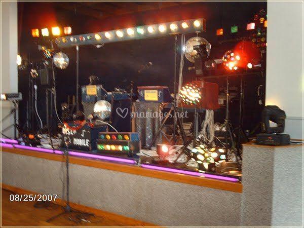 Disco mobile22 scène