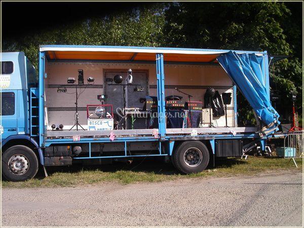 Disco mobile 22 camion