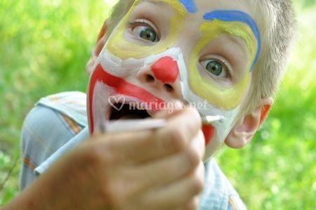 Séance de maquillage