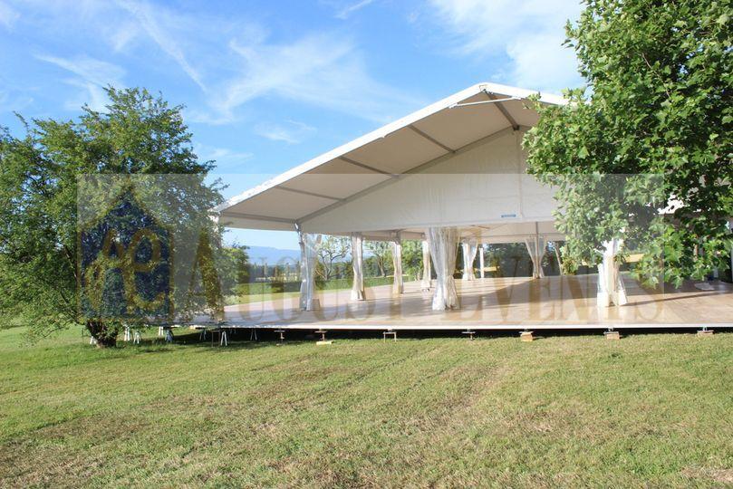 Tente de Reception et Plancher