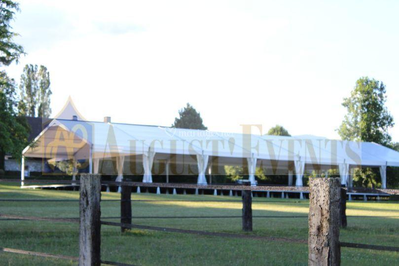 Tente de Reception