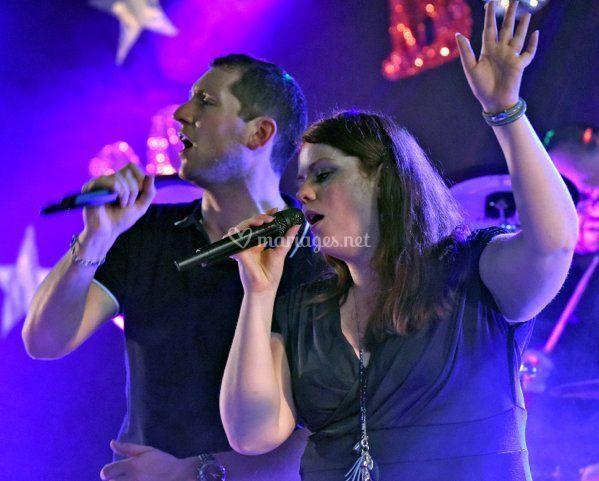 Eric et Christelle au chant