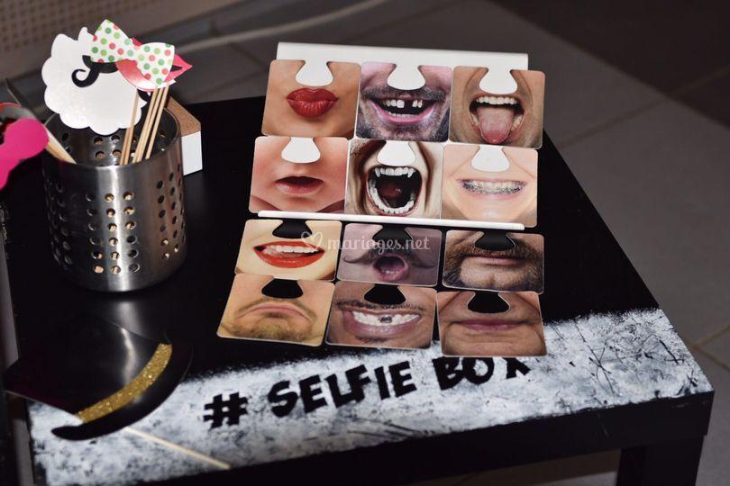 Accessoires SelfieBox