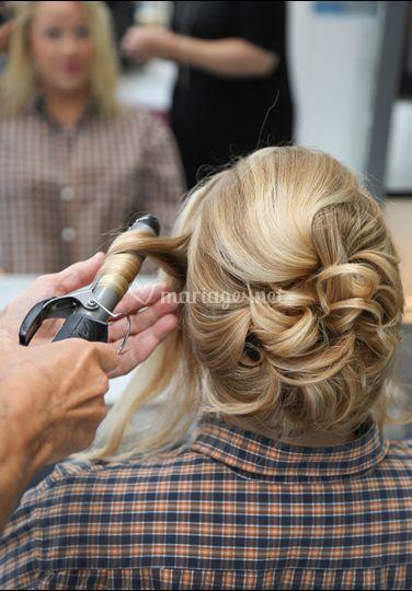 Préparation coiffure