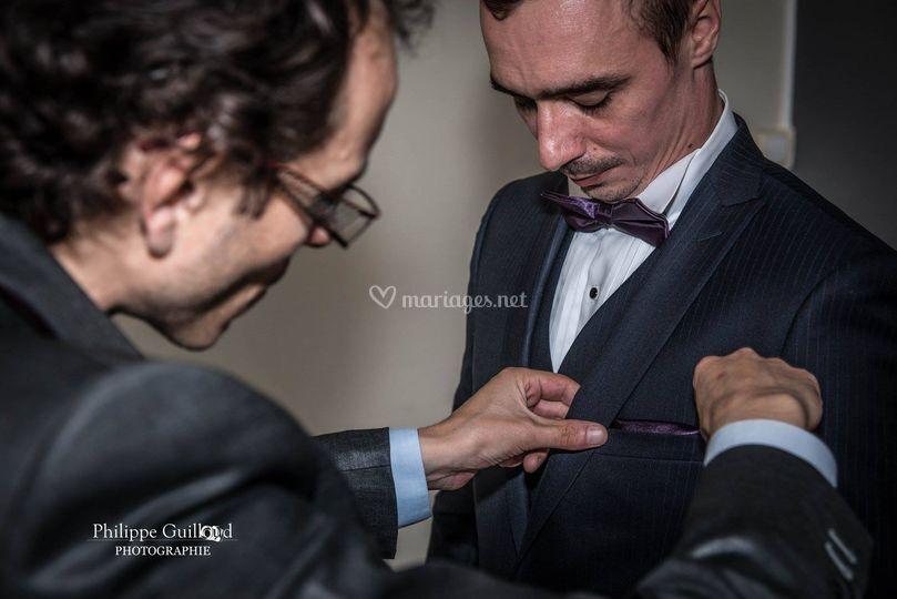 Notre tailleur et le marié