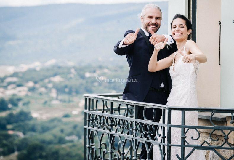 Mariage Capiany au Castellet