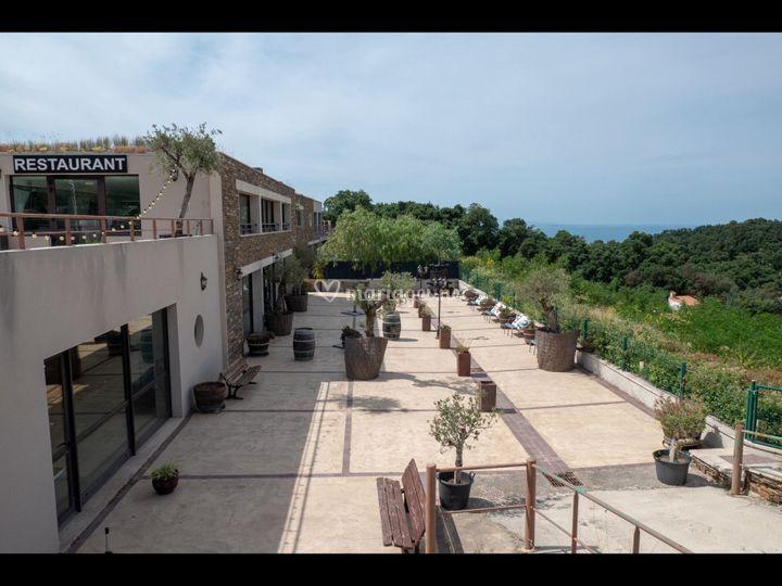 Terrasses rdc