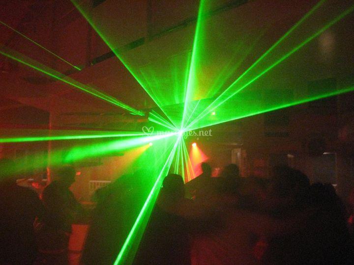 Lumières laser
