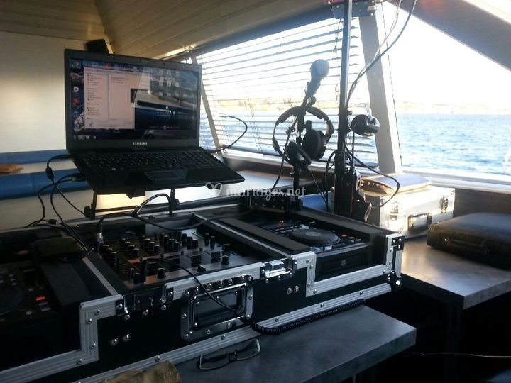 Animation musical sur un yacht