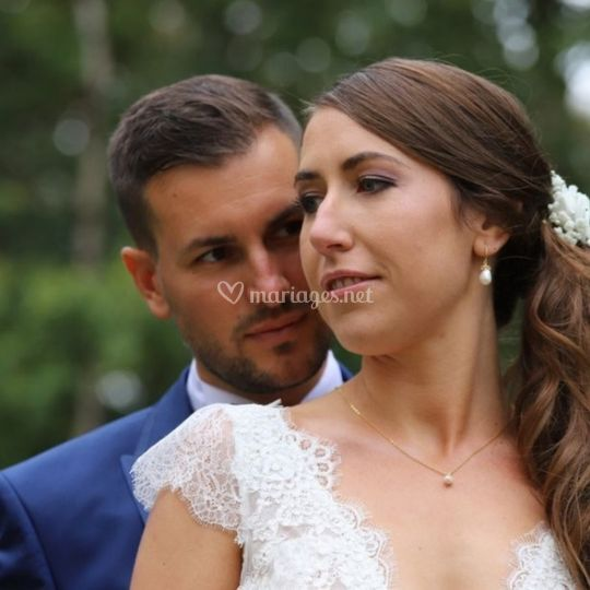 La tendresse des mariés