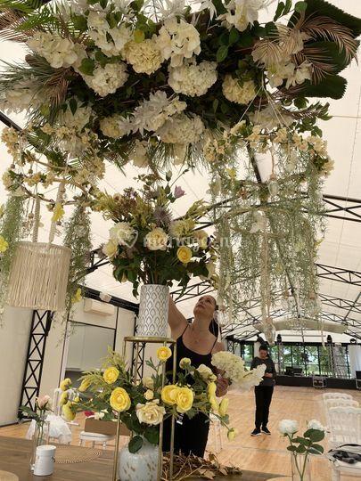 Cérémonie Laïque Ciel floral
