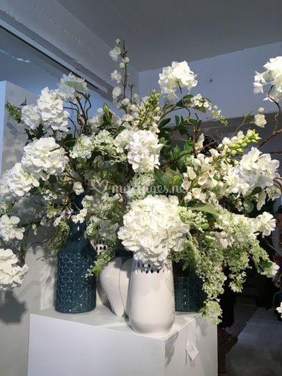 Déco florale d'accueil