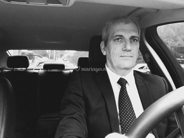 Votre chauffeur Christophe