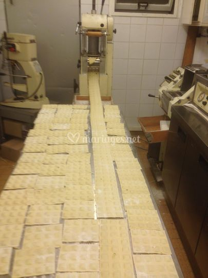 Labo fabrication de raviolis