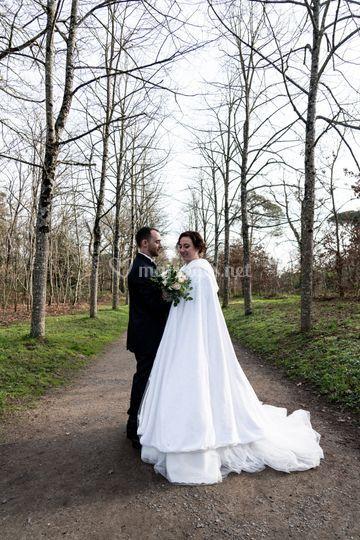 Mariage d'Hiver - Couple