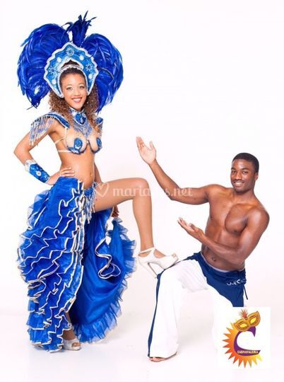 Danseuse et capoeiriste