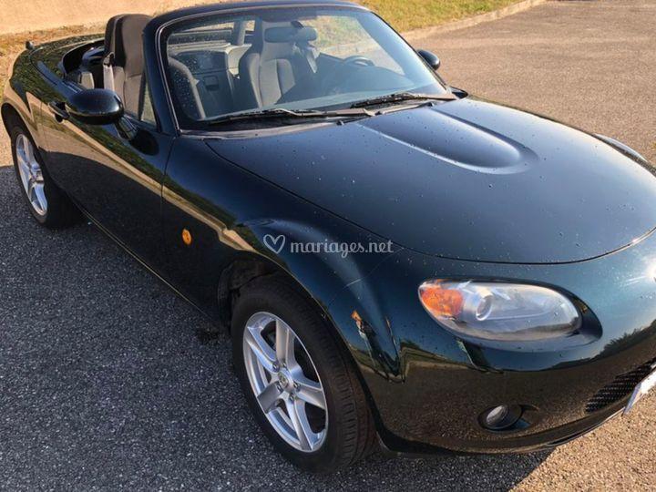 Mazda mx5 2 places cabriolet