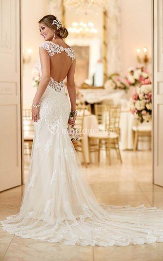 Robe de mariée dos-Séduisante