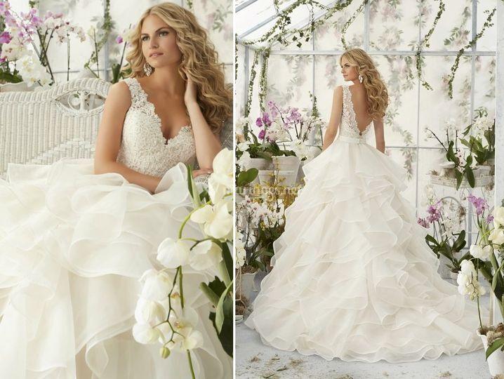 Robe de mariée Liberta