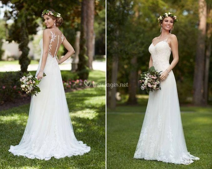 Robe de mariée Verlaine