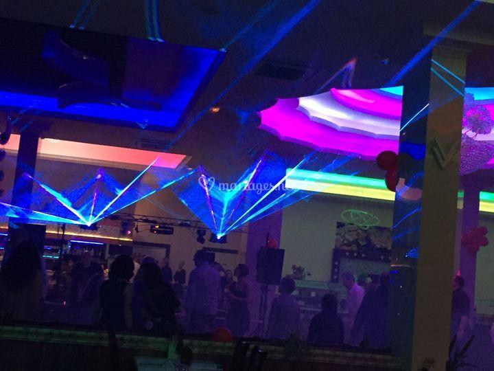 Show Laser Multicolore